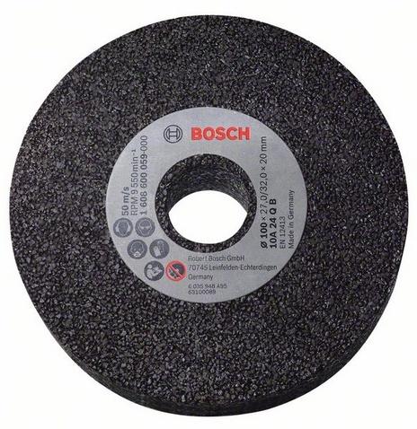 Диск шлифовальный для граверов Bosch 1608600059Насадки для шлифования, полировки, чистки<br>Круг шлифовальный для граверов Bosch 1608600059, от ведущего мирового поставщика потребительских товаров, промышленных и строительных технологий Bosch, представляет собой сменную насадку для шлифовальных машин, предназначенную для качественной обработки чугунных деталей. Модель выполнена из высококачественных износостойких материалов, практична и долговечна в использовании. Диаметр круга составляет 100 мм. Изделие упаковано в картонную коробку.<br>