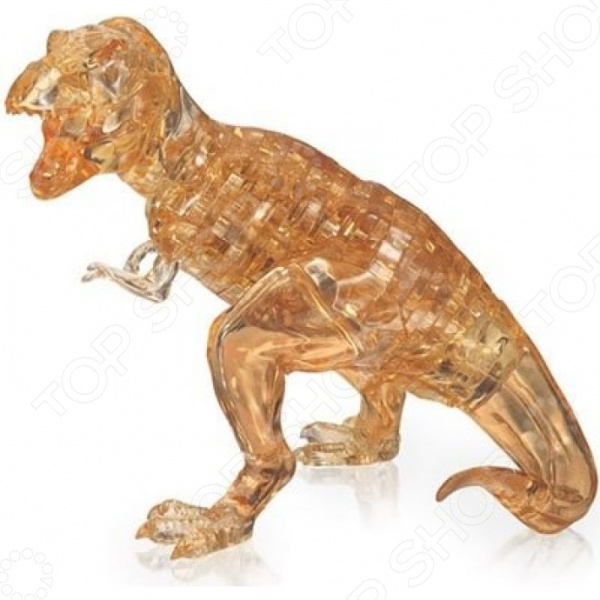 Кристальный пазл 3D Crystal Puzzle «Динозавр T-Rex» wooden t jigsaw puzzle toy wood