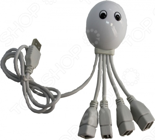 31 ВЕК USB-хаб «Осьминог». В ассортименте