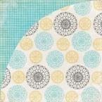фото Бумага для скрапбукинга двусторонняя Basic Grey Clothesline, купить, цена