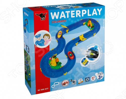Водный трек Big Colorado Big Waterplay
