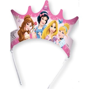 Корона бумажная Procos «Принцессы Disney - сказочный мир» procos свечи буквы принцессы disney сказочный мир happy birthday