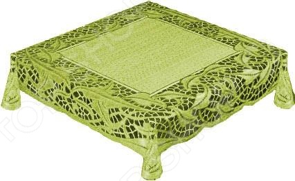 Скатерть Haft 50912. Цвет: оливковый