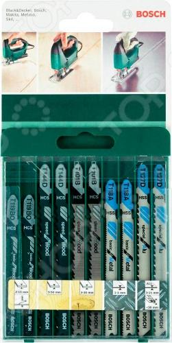 Набор пильных полотен Bosch SET T-XB 2609256746  цена и фото