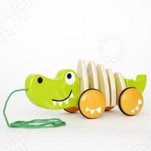 Игрушка деревянная Hape «Крокодил»