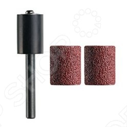Набор насадок для шлифовки Dremel TR407  набор для домашнего декора dremel f013g290jd