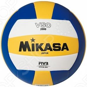 Мяч волейбольный Mikasa VSO-2000 чешки для мальчика aruna волейбольный мяч цвет белый голубой 61 волейбольный мяч размер 27 29