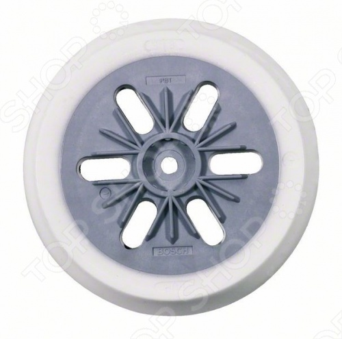 Круг шлифовальный тарельчатый Bosch PEX, 125 мм  диск шлифовальный с липучкой р40 d 125 мм 5 шт перфорированный bosch профи