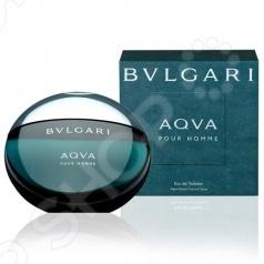 Туалетная вода-спрей для мужчин BVLGARI Aqua homme, 100 мл