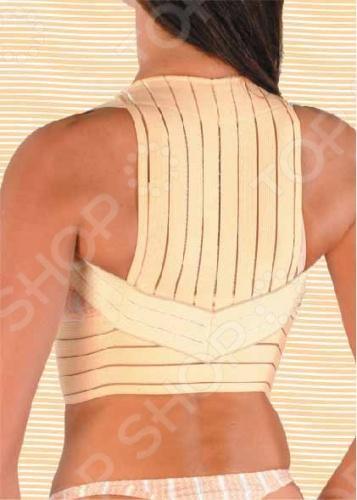 Корректор осанки Gezatone Gezanne помогает избавиться от сутулости. Распрямляя плечи, он добавляет несколько сантиметров роста и поднимает грудь. Корректор выполнен из мягкой ажурной ткани телесного цвета. Он практически незаметен под одеждой, не вызывает неудобств и раздражений, избавляет от сутулости, поддерживая естественную грацию в течение всего дня. В нём особенно нуждаются люди, ведущие малоподвижный образ жизни, школьники, студенты для профилактики и лечения искривления позвоночника
