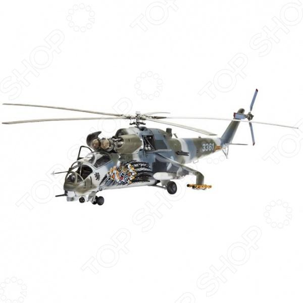 Сборная модель вертолета Revell Ми-24V Hind-E