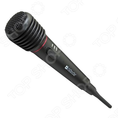 Микрофон динамический беспроводной Defender MIC-142 микрофон defender mic 142