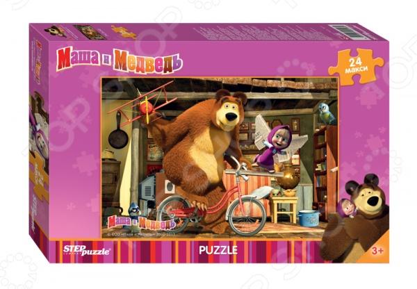 Пазл 24 элемента Step Puzzle «Маша и Медведь» 90013 27882