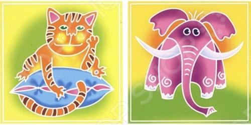 Набор для росписи ткани RTO BK-002/006Роспись по ткани<br>Набор для росписи ткани RTO BK-002 006 - эксклюзивный продукт на российском рынке. По контуру изображения нанесен воск, благодаря чему краски не растекаются, а рисунок быстро приобретает нужные очертания. В набор входят два отреза ткани с контурным рисунком, картонный каркас с креплением из самоклеющейся ленты, кисть для рисования, три сухие краски для разведения водой:красная, желтая, синяя, фиксатор краски. Набор упакован в прозрачный пакет, в комплект входит подробная иллюстрированная инструкция.<br>