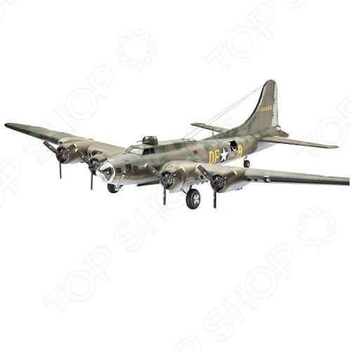 Сборная модель самолета Revell B-17F «Memphis Belle» revell самолет бомбардировщик боинг b 17g летающая крепость американский