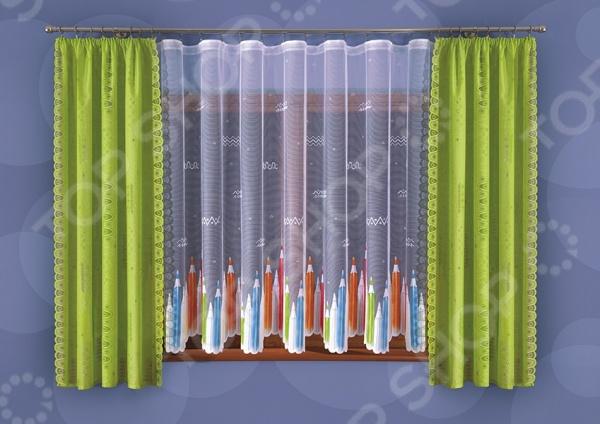 Комплект штор Wisan 005 WШторы<br>Комплект штор Wisan 005 W это качественный оконный занавес, который преобразит интерьер и оживит атмосферу, придав всей комнате домашний уют, завершенность и оригинальность. Шторы изготовлены из полиэстера, который практически не мнется, легко отстирывается от загрязнений, не притягивает пыль и не требует глажки. Благодаря этому ткань способна выдержать сотни стирок без потери цвета и прочности. Обычные материалы со временем выгорают, на них собирается пыль, появляются неприятные запахи. С полиэстером этого не происходит штора почти не пачкается и не впитывает запахи, при этом вы очень легко ее постираете и высушите. Интерьер квартиры или дома, в котором окна не украшены занавесом, сегодня трудно представить, поэтому шторы станут отличным подарком для любого человека. Купить шторы способ недорого, быстро и изящно преобразить дизайн домашнего интерьера!<br>