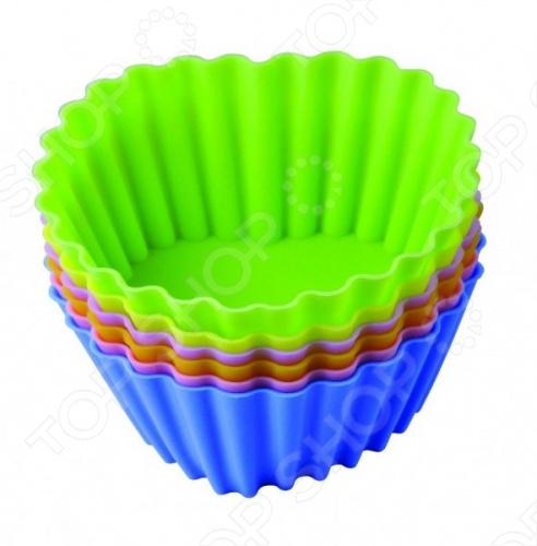 Набор форм для выпечки силиконовый Regent «Тарталетки-сердца»