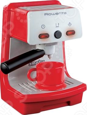 Кофеварка игрушечная Smoby «Rowenta»Сюжетно-ролевые наборы<br>Кофеварка игрушечная Smoby Rowenta представляет собой практически точную копию настоящей кофеварки. Реалистичности в игру вашей малышки добавляют звуки, которые издает настоящий прибор, а так же лампочки, которые светятся при заваривании кофе. Огромное количество возможных игровых ситуаций, которые ребенок может воспроизвести самостоятельно или же во время игры со своими друзьями сделают данную кофеварку одной из любимейших игрушек.<br>