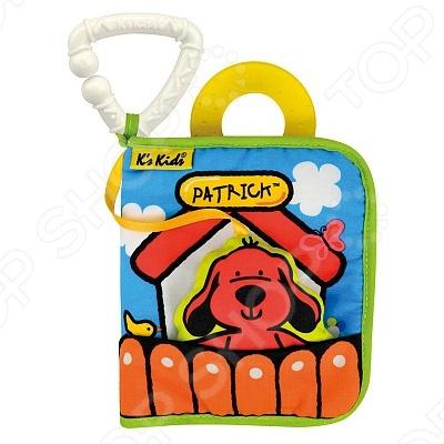 Игрушка-книжка K'S Kids «Первая книжка» машинки пазлы книжка игрушка
