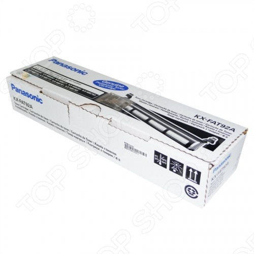 Тонер-картридж Panasonic KX-FAT92A тонер картридж panasonic kx fat403а7 kx fat403а7
