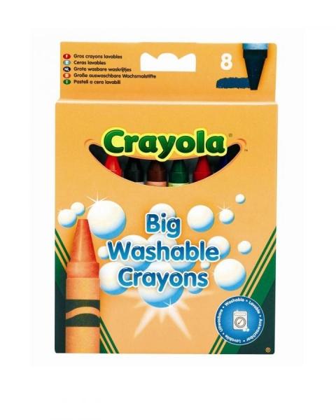 ����� �������� ������ Crayola Big Washable Grayons