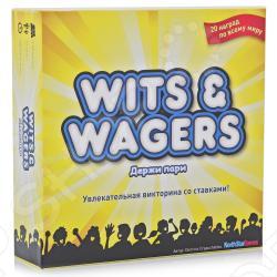 Настольная игра Мосигра Держи пари (Wits & Wagers)