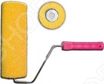 Валик поролоновый структурный FIT Профи особенно удобен для использования в быту и является прекрасным подарком, как для сильного, так и для слабого пола! Основными особенностями данной модели стали: материал изготовления - структурный желтый поролон, диаметр 40 80 мм, система с пластиковым роликом, закрепленным на шести миллиметровом бюгеле. Профи используется со структурными красками на алкидной и акриловой основе. Порадуйте себя и свой любимый дом столь приятным, а главное полезным подарком, как Валик поролоновый структурный Профи от компании FIT!