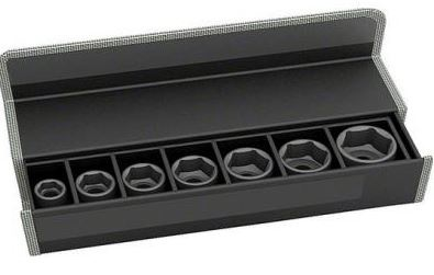 Набор головок для торцевых ключей Bosch 2608551103 набор торцевых головок stanley и комбинированных ключей 40 предметов 1 99 056