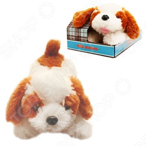 Мягкая игрушка интерактивная FUNNY&FLUFFY «Пес Шарик»