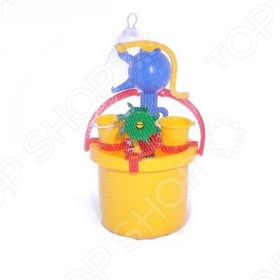 фото Игрушка для песочницы Jiahe Plastics Ведерко с насосом, Песочницы. Игрушки для песочницы