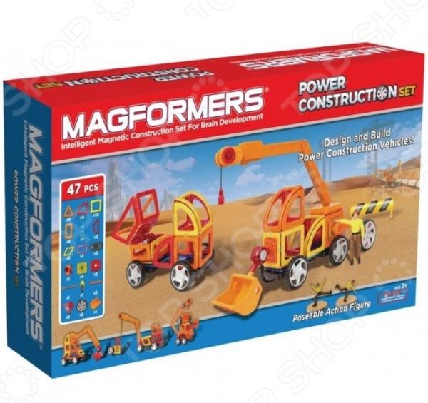 Magformers  Конструктор магнитный Power Construction Set