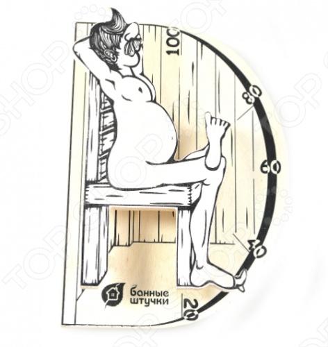 Термометр для бани и сауны Банные штучки «В здоровом теле-здоровый дух»