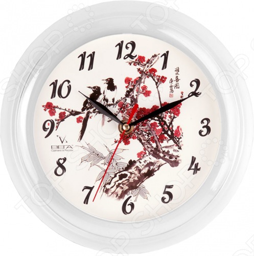 Часы Вега П 6-7-7 «Сакура»