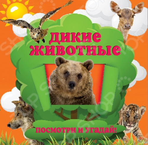 Увлекательное путешествие в мир диких животных для любознательных малышей! Уникальная книга с вырубленными окошками поможет превратить развитие ребенка в занимательную игру. Угадывая по подсказкам, кто прячется на следующей странице, малыш расширит кругозор, а также разовьет внимание, логику и мышление. Для чтения взрослыми детям.