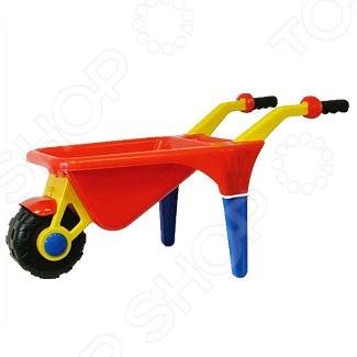 Тачка детская Полесье «Садовод» полесье набор игрушек для песочницы тачка садовод с лопатой и граблями цвет желтый