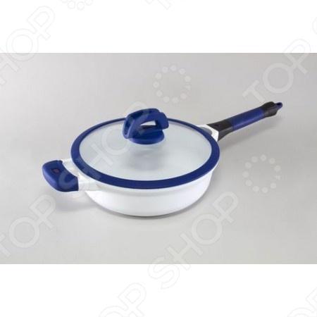 Сковорода со съемной ручкой Gipfel Smart сковорода gipfel smart с керамическим покрытием со съемной ручкой диаметр 24 см