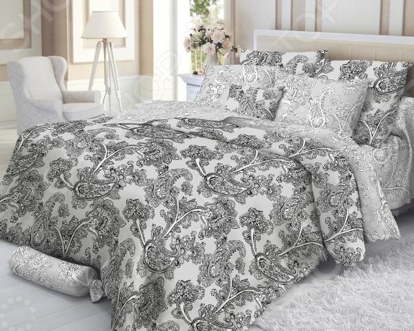 Комплект постельного белья Verossa Constante Grace 180560. 2-спальный2-спальные<br>Комплект постельного белья Verossa Grace 180560 это превосходное, стильное бельё, предназначенное для тех, кто любит и ценит себя и свой комфорт. Оно изготовлено из 100 хлопковой ткани - сатина, благодаря высокому номеру пряжи, атласному переплетению, а также высокой плотности ткани, сатин является невероятно мягкой и гладкой тканью с особым блеском, а также высокой прочностью. Комплект постельного белья Verossa Grace 180560 признак хорошего вкуса и практичности.  Пошив на автоматической линии гарантия соблюдения точности размеров изделий.  Высокое качество тканей гарантия легкости и долговечности эксплуатации белья: ткани не линяют, не садятся, не пилингуются.  Качественная упаковка продукта привлекательный внешний вид, возможность использовать продукт как подарок.<br>