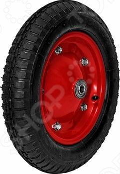 Колесо запасное FIT для тачки 77540 это отличное колесо, диаметром 13 х3 для тачки модели 77540. Колесо с резиновой шиной и камерой, грузоподъемность 150 кг. Есть шариковый стальной подшипник, диск крашенный в красный цвет. В случае, если вы часто используете тачку, лучше иметь запасное колесо, что бы избежать возможных проблем.