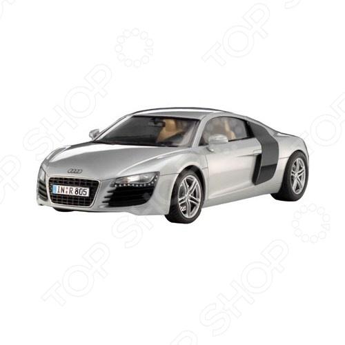Сборная модель автомобиля 1:24 Revell Audi R8 сборная модель автомобиля 1 32 revell ferrari 360 challenge m lehner
