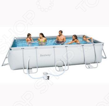 Каркасный бассейн Bestway 56251 обладает прямоугольной формой, что позволяет использовать более рационально пространство двора. Выполнен из трехслойного армированного ПВХ. Имеет каркас из нержавеющей стали. Прекрасно подойдет для игр на воде или детского плавания. Легко устанавливается. Вместительность: 6930 литров.