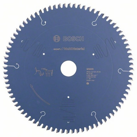 Диск отрезной для торцовочных и панельных пил Bosch Expert for Multi Material диск отрезной для торцовочных пил bosch optiline wood 2608640432