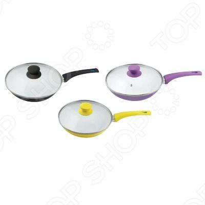 Сковорода BartonSteel BS-752. В ассортиментеСковороды<br>Сковорода BartonSteel BS-752 это объемная сковорода с высококачественным покрытием прекрасно подходит для приготовления продуктов. Благодаря специальному покрытию, на ней можно приготовить разнообразные блюда из мяса, рыбы, птицы и овощей практически не используя масло. Готовое блюдо получится не только вкусным, но и полезным. Сковорода снабжена эргономичной ручкой, которая не нагревается в процессе приготовления пищи.<br>