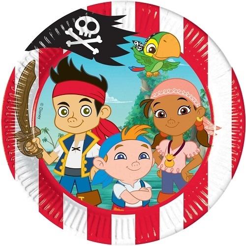 Тарелки одноразовые Procos «Джейк и пираты Нетландии»