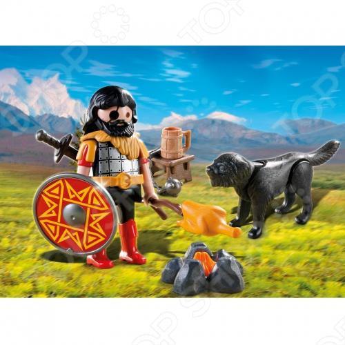 фото Варвар с собакой и костром Playmobil 4769 4769pm, Другие виды конструкторов
