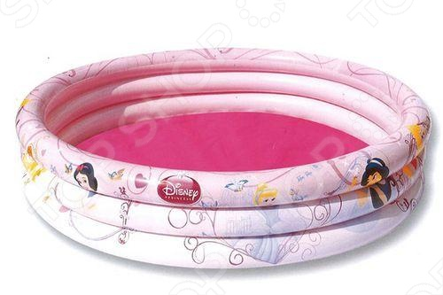 Бассейн надувной Bestway Princess 91047 бассейн надувной bestway disney princess 70х30 см 48 л