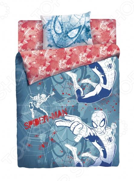 Детский комплект постельного белья MARVEL «Spider Man Граффити» обои граффити где в тольятти