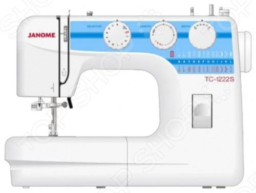 Швейная машина Janome TC-1222S  швейная машина janome tc 1222s белый [tc 1222s]