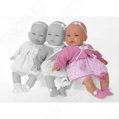 Кукла Munecas Antonio Juan «Диа в розовом» juan antonio пупс габи розовом костюме