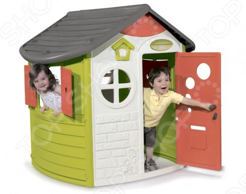 фото Домик игровой Smoby Jura, Игровые домики. Горки. Качели