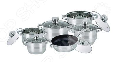 Набор кухонной посуды Bohmann BH-1275 NTF набор посуды bohmann с крышками 8 предметов 0806bh